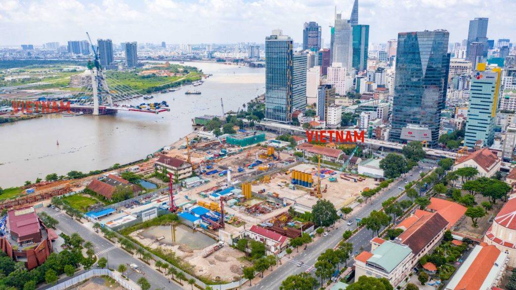 Tiến độ Grand Marina Saigon Quận 1
