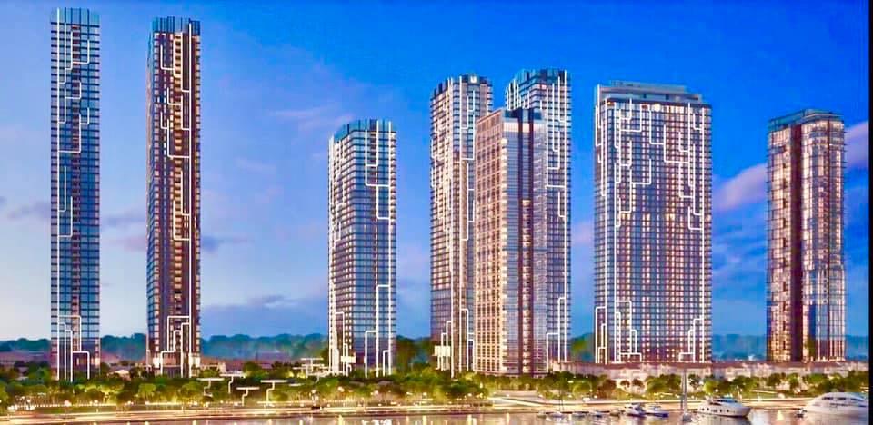 Phối cảnh tổng quan Grand Marina Saigon