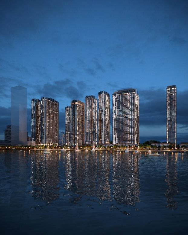 Khu vực bờ sông Sài Gòn sẽ trở nên sống động và phồn hoa với Grand Marina Saigon.