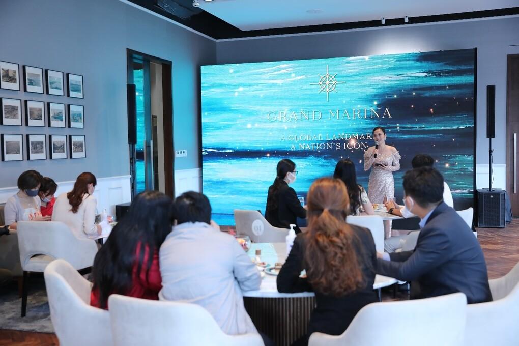 Triển lãm kết hợp ra mắt chính thức Grand Marina tại Việt Nam
